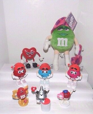 Valentine's Day M&Ms Plush,Candy Dispensers,Toppers~Hersey Kiss~Bendy Heart Dude