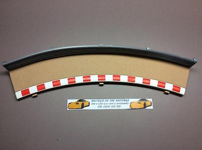 Used 1:32 Scalextric Sport C8228 Radius 2 Outer Track Border And Fence. VGC