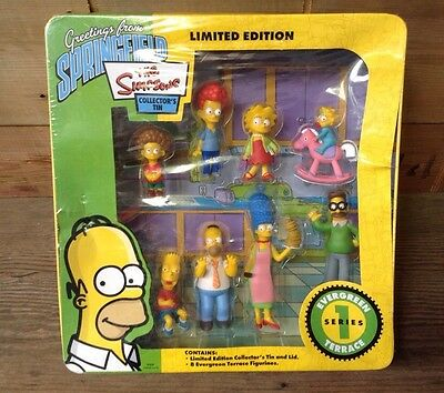 THE Simpsons LIMITED Edition COLLECTORS Tin Series 1 EVERGREEN Terrace