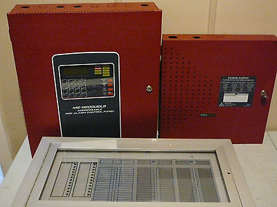 Fire Lite Ms-9200Udls With Fcps-24Fs8 & Annunciator Panel Free Shipping