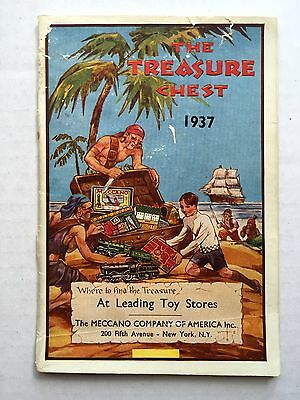 1937 Meccano Toy Catalog w/ Hornby Trains- Dinky Toys- The Treasure Chest