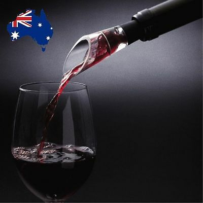 AU SELLER - Magic WINE AERATOR / DECANTER Essential Filter & Pourer! RED WINE!