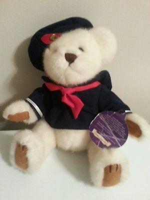 Brass Button Collection  Plush Sailor Bear 13""
