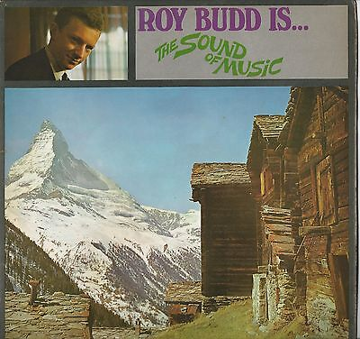 Roy Budd :  Roy Budd is the Sound of Music 33 RPM LP 1967