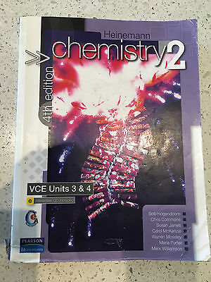 Heinemann Chemistry 2, 4th Ed., VCE Units 3 & 4
