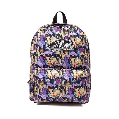 NEW DISNEY VANS VILLAIN VILLAINESS REALM BACKPACK BAG School Disney Princess