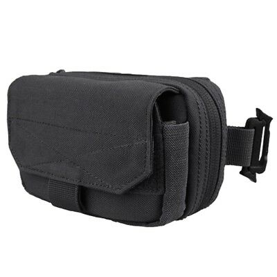 CONDOR MA66 MOLLE PALS Digi Pouch 4 Cell Phone iPhone iPod MP3 Camera GPS BLACK