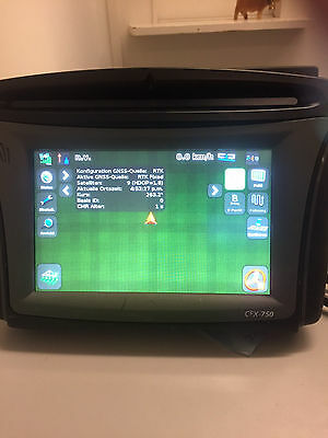 Trimble CFX750/FM750 unlocked for RTK, incl. AG25, cables and bluetooth