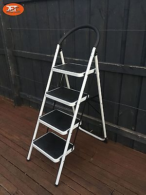 Multi Purpose 1.5M 4 Steps Ladder Domestic Household Office Foldable-JET0504A