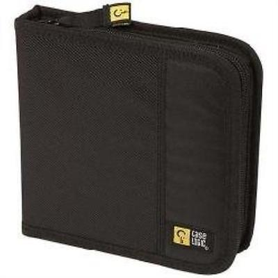 Case Logic Cdw-16 16 Capacity Classic Cd Wallet (Black) Compact Durable New
