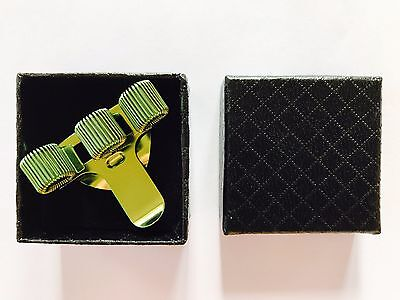 Pen Holder 3 Hole Metal + Pocket Clip Nurse - Ideal Gift - Boxed - Green