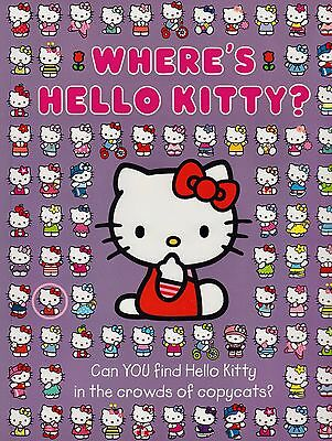 Where's Hello Kitty? BRAND NEW BOOK by John R Adams (Paperback 2011)