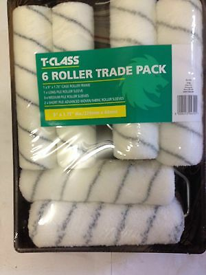 "Harris 9"" Paint Roller Set T-Class Painting Decorating Complete Paint Set"