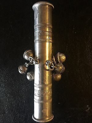 Silver Plated Rattle