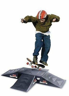 Rampage Mini Four-Way Fun Box Launch Ramp Set High Impact New