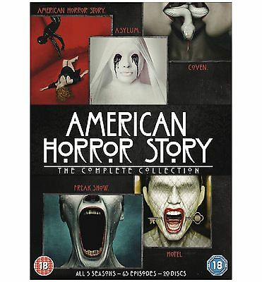 AMERICAN HORROR STORY Complete Series Collection 1-5 DVD Season 1 2 3 4 5 BoxSet