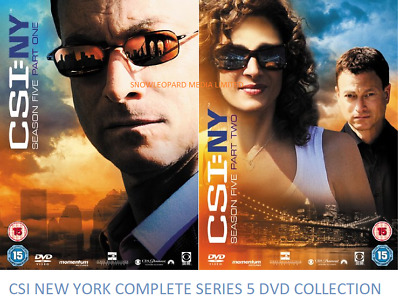 CSI NEW YORK NY Complete Series 5 DVD All Episodes 5th Fifth Season UK Release