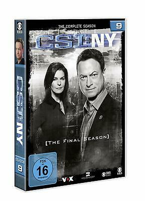 CSI NEW YORK NY COMPLETE SERIES 9 DVD Ninth 9th Season Nine UK Compatibl NEW R2