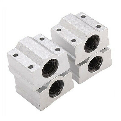 SCS8UU Linear Motion Ball Bearing CNC Slide Bushing 34.5mm Length 4pcs J3G8