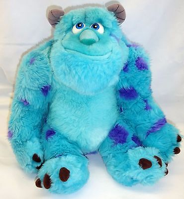 "Disney Store Authentic Exclusive 14"" Monsters Inc. Sulley Soft/Plush Toy"