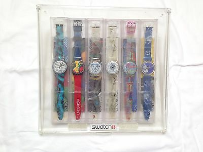 Swatch Watch 1995 Vintage 6 Artist Collection 6 Watches As New