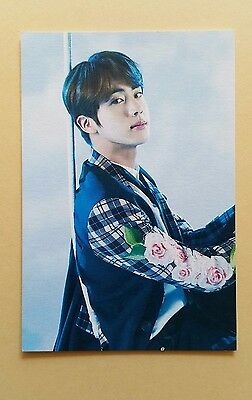 2017 Bangtan Boys BTS THE WINGS TOUR Official Mini photocard Photo Card -  Jin