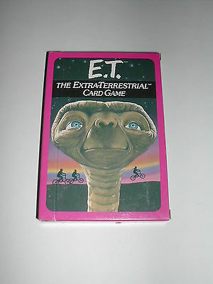 E.t. Card Game Et The Extra Terrestrial Parker Bothers