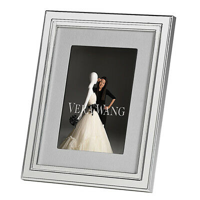 NEW Wedgwood Vera Wang Chime Silver Plated Frame 13x18cm
