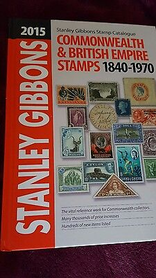 Stanley Gibbons Commonwealth And British Empire Stamps Catalogue 1840  1970 2015