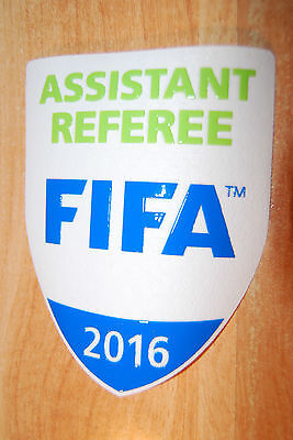 Fifa Referee Assistant Official Patch Year 2016 - Original (Not Fake)