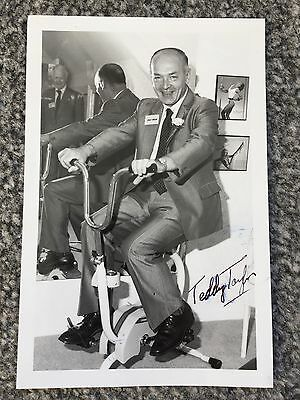 Autograph: Hand signed Photograph by Teddy Taylor, Letter & Envelope from 1988