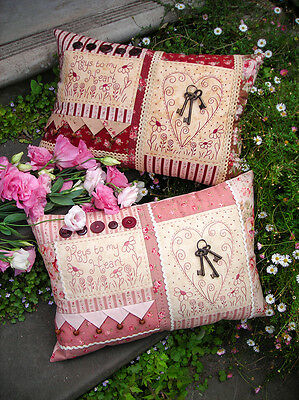 keys to my heart cushion pattern