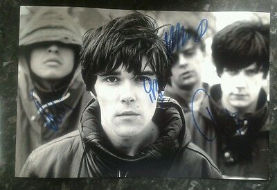 Stone Roses Genuine Hand Signed Autograph