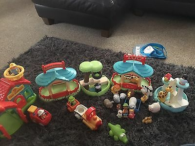 ** elc happyland bundle Zoo, Fire station And Extras! **