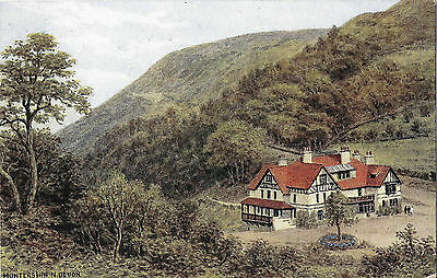 HUNTERS INN, NORTH DEVON - Artist A.R. Quinton - J. Salmon Card 3334 - Unposted