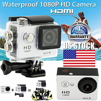 Ultra 4K HD SJ4000 Waterproof WiFi DV Action Sports Camera 1080P Video Camcorder