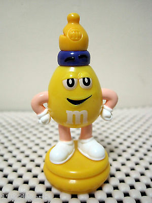 M&m Chess Yellow Bishop Topper European M&m's Collectable Mars Dispenser