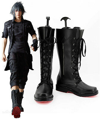 FF Final Fantasy 15 XV Noctis Schuhe Stiefel Shoes Boots Cosplay Kostüme costume