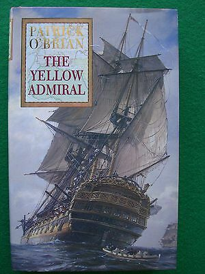 PATRICK O'BRIAN: 1st EDITION SIGNED - THE YELLOW ADMIRAL - COLLECTOR'S COPY