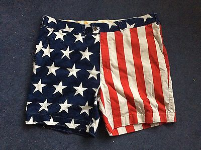 Loud Mouth Stars &a Stripes Golf Shorts Men's Large/extra Large