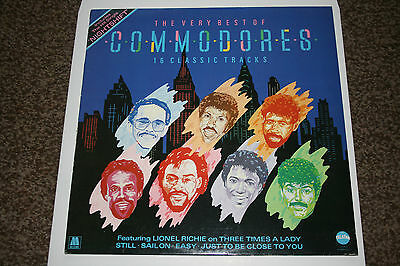 The Very Best Of The Commodores Vinyl LP Excellent Condition