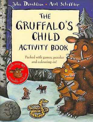 The Gruffalo's Child Activity Book NEW BOOK by Julia Donaldson (Paperback, 2009)