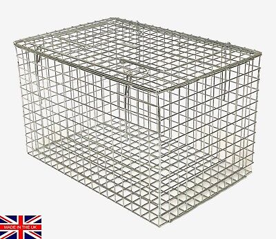 SECONDS Wire cat carrier STURDY cat basket rabbit rodent carrier UK Made TrapMan