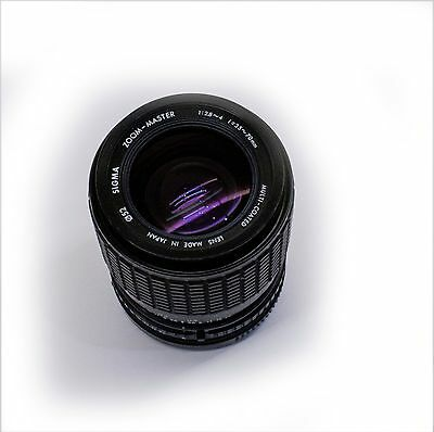 Sigma Standard Zoom 1:2.8~4, f=35-70mm Multi Coated Camera Lens for Canon FD
