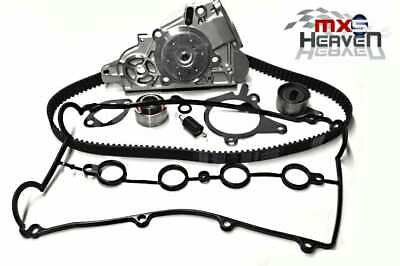 Mazda MX5 MK2 1.6 Timing Belt Kit (4 pc), Water Pump & Cam Cover Gasket *New*