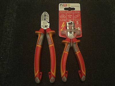 NWS SIDE CUTTER , VDE 6 In 1 Cutter 190mm, LIMITED STOCK AT THIS PRICE !!!