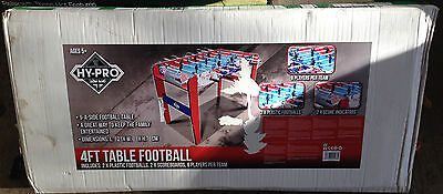 Hy-Pro 4ft Football Table, Brand New, Box Slightly Damaged(H)