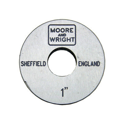 1 inch Micrometer Standard Setting Length Calibration Gauge - Moore and Wright