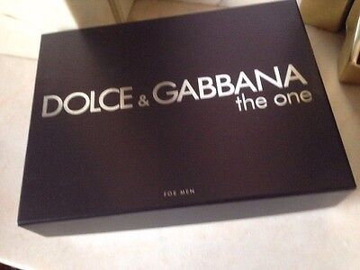 Dolce & Gabbana - The One - Empty -Aftershave Box - Gift Storage Box - Display
