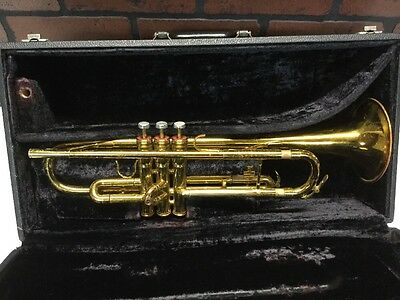 King 601 Trumpet U.S.A. with KIng Case (stock#213)